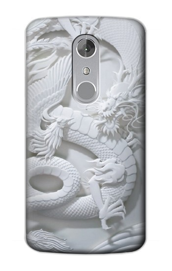 Printed Dragon Carving ZTE Axon mini Case