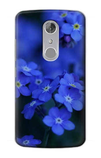 Printed Forget me not ZTE Axon mini Case
