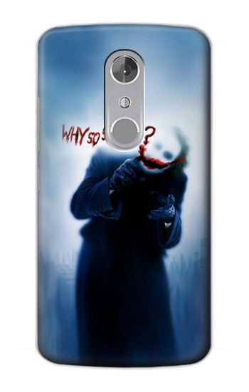 Printed Batman Joker Why So Serious ZTE Axon mini Case