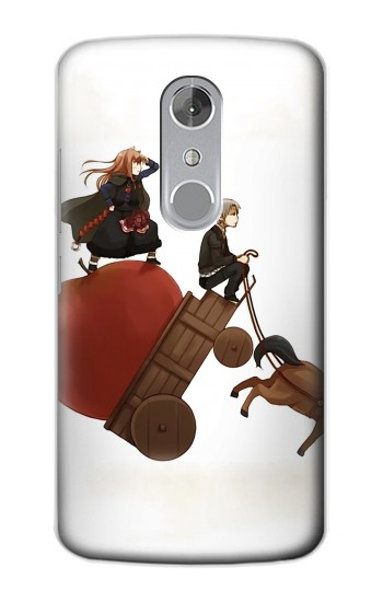 Printed Spice and Wolf Horo Lawrence ZTE Axon mini Case