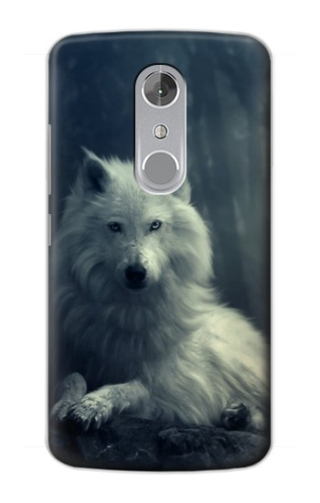 Printed White Wolf ZTE Axon mini Case