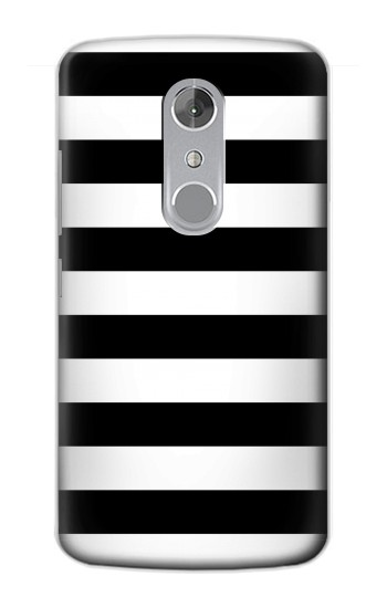 Printed Black and White Striped ZTE Axon mini Case