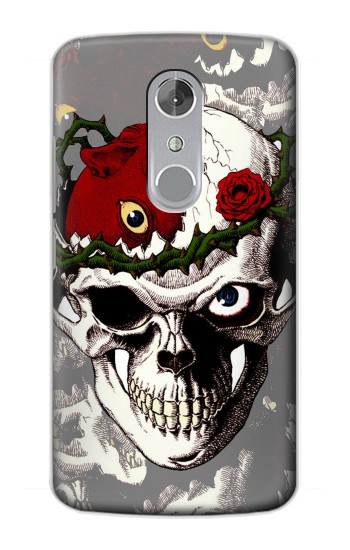 Printed Berserk Skull Beherit Egg Tattoo ZTE Axon mini Case