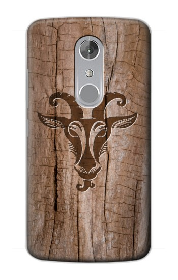 Printed Goat Wood Graphic Printed ZTE Axon mini Case