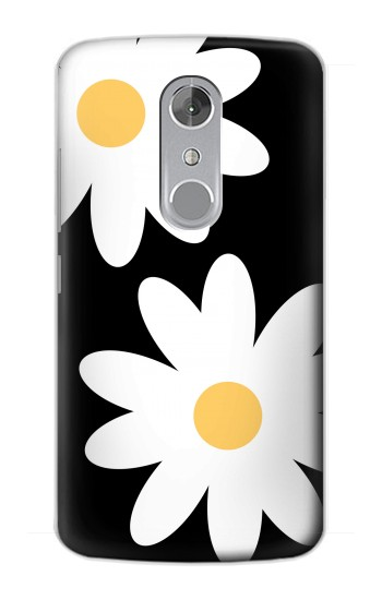 Printed Daisy White Flowers ZTE Axon mini Case