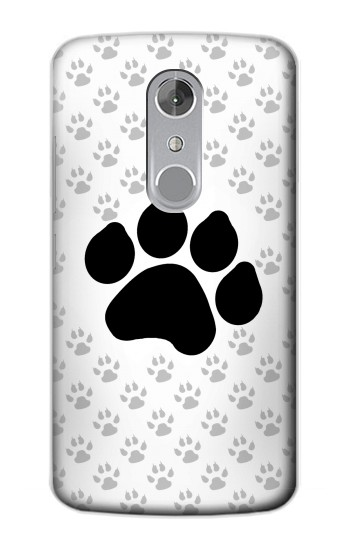 Printed Paw Foot Print ZTE Axon mini Case