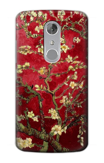 Printed Red Blossoming Almond Tree Van Gogh ZTE Axon mini Case