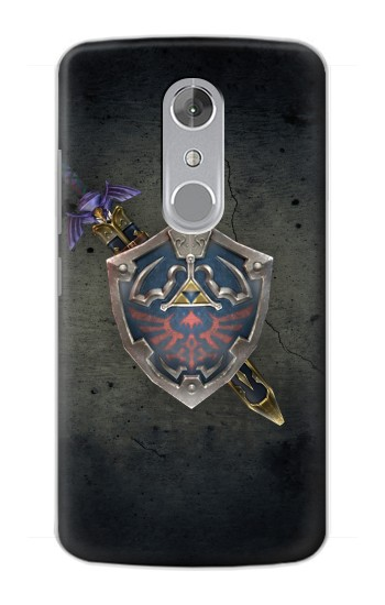 Printed Legend of Zelda Shield ZTE Axon mini Case