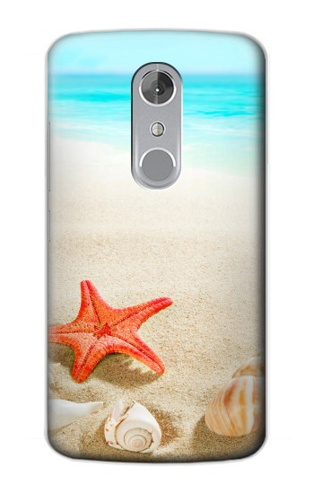 Printed Sea Shells Starfish Beach ZTE Axon mini Case