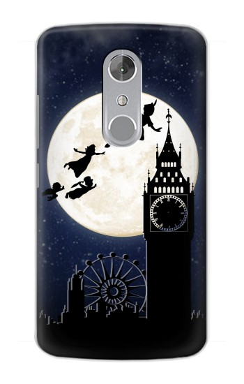 Printed Peter Pan Fly Fullmoon Night ZTE Axon mini Case