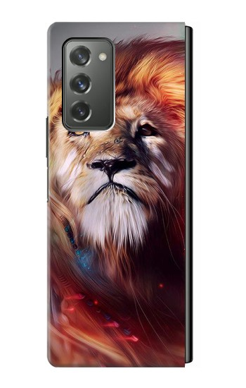 Printed Leo Paint Samsung Galaxy Z Fold2 5G Case