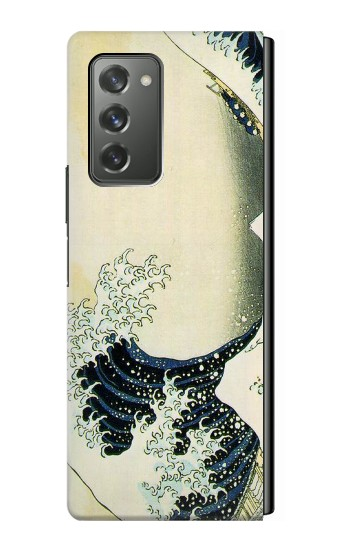 Printed Katsushika Hokusai The Great Wave of Kanagawa Samsung Galaxy Z Fold2 5G Case