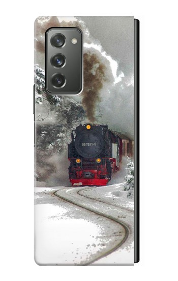 Printed Steam Train Samsung Galaxy Z Fold2 5G Case