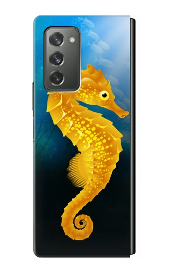 Printed Seahorse Underwater World Samsung Galaxy Z Fold2 5G Case