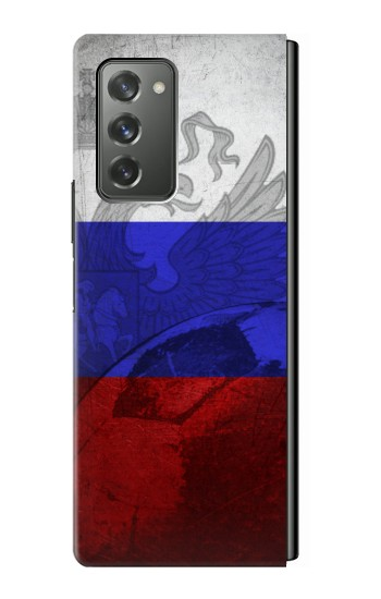 Printed Russia Football Flag Samsung Galaxy Z Fold2 5G Case