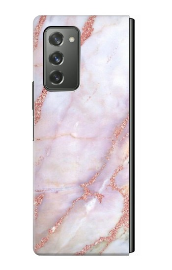 Printed Soft Pink Marble Graphic Print Samsung Galaxy Z Fold2 5G Case