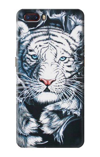 Printed White Tiger ZTE nubia M2 Case