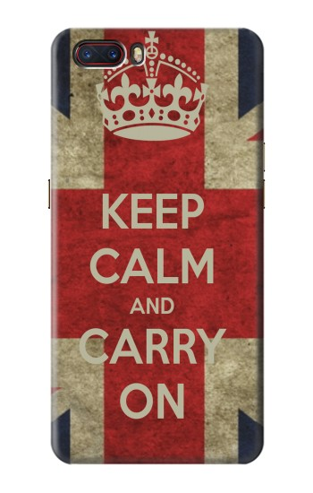 Printed Keep Calm and Carry On ZTE nubia M2 Case