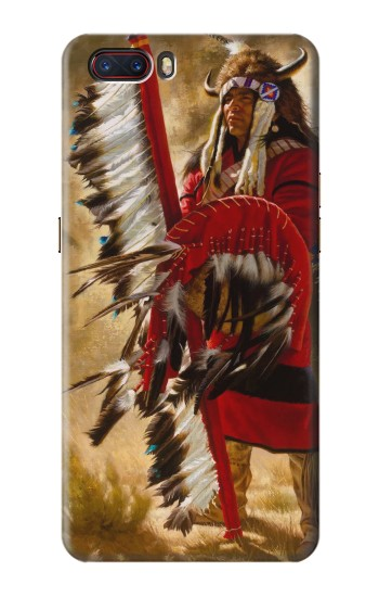 Printed Red Indian ZTE nubia M2 Case