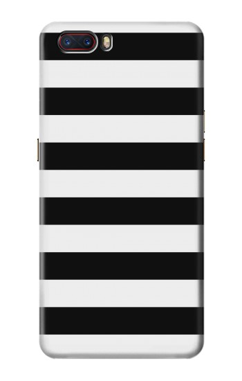 Printed Black and White Striped ZTE nubia M2 Case
