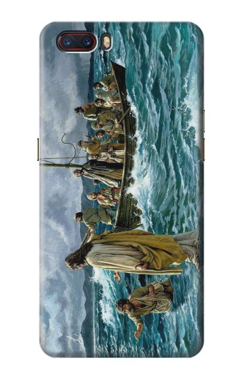 Printed Jesus Walk on The Sea ZTE nubia M2 Case