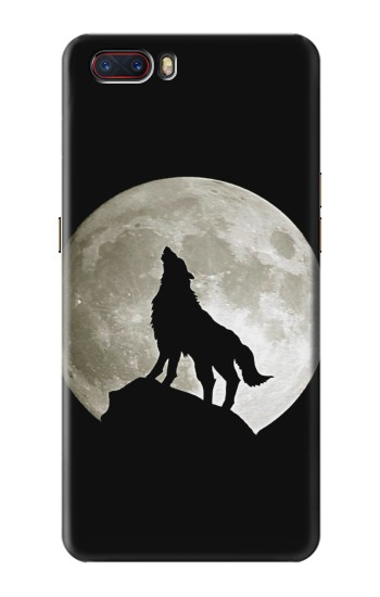 Printed Wolf Howling at The Moon ZTE nubia M2 Case
