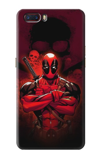 Printed Deadpool Skull ZTE nubia M2 Case