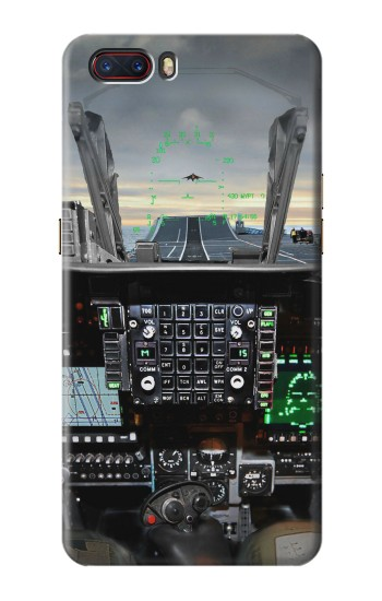 Printed Fighter Jet Aircraft Cockpit ZTE nubia M2 Case