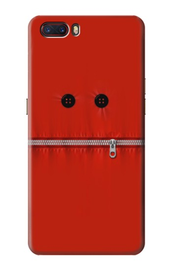 Printed Red Zipped Mount Funny Graphic Printed ZTE nubia M2 Case
