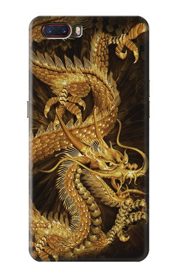 Printed Chinese Gold Dragon Printed ZTE nubia M2 Case