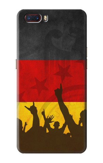 Printed Germany Football Flag ZTE nubia M2 Case