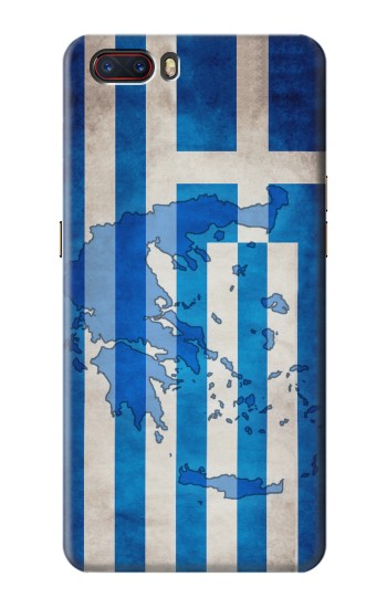 Printed Greece Map Flag ZTE nubia M2 Case