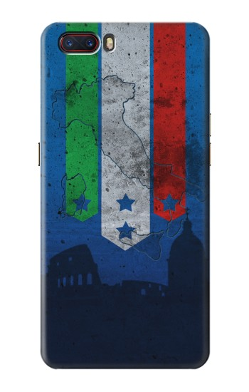 Printed Italy Football Flag ZTE nubia M2 Case