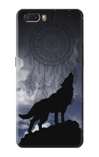 Printed Dream Catcher Wolf Howling ZTE nubia M2 Case