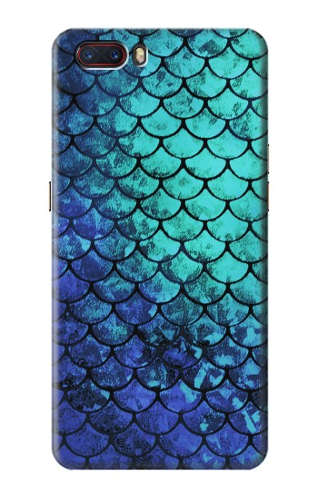 Printed Green Mermaid Fish Scale ZTE nubia M2 Case