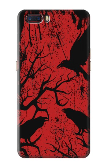 Printed Crow Black Tree ZTE nubia M2 Case